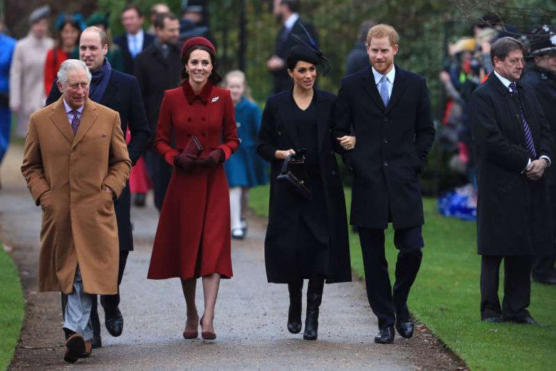 Nope, It's Not The Color! One Huge Difference Between Kate And Meghan's Christmas Outfitsroyal family