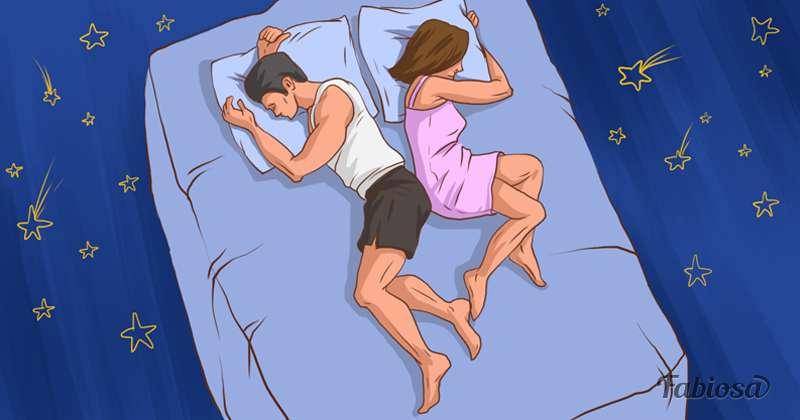 Enlacés ou distants ? Les positions de sommeil peuvent être révélatrices de la relation avec votre partenaire