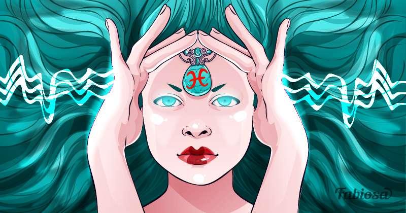 Horoskop der geheimen Kräfte für alle weiblichen Sternzeichenwoman, intuition, horoscope