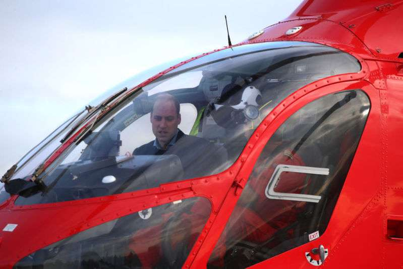 Prince William Flies Air Ambulance To Hospital And Receives Special Birthday Message On Behalf Of His Wife
