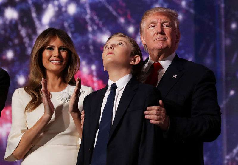Melania Shared The Real Reason Why Barron Trump Is Rarely Seen On Public And How She Protects His Childhoodtrumps