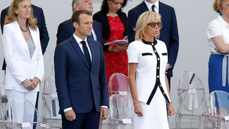 Melania Trump y Brigitte Macron: duelo de estilos y mucha complicidad entre las primeras damasMelania Trump y Brigitte Macron: duelo de estilos y mucha complicidad entre las primeras damas