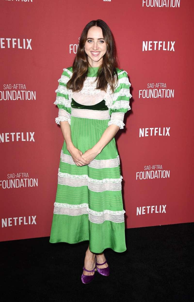 Unknown Family Ties: The Legendary Film Director Elia Kazan Is The Beautiful Actress Zoe Kazan's Grandfather
