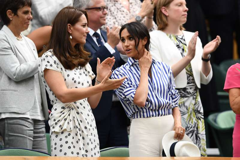 Are Meghan And Kate Becoming BFFs? How The Fans Reacted To Kate's Upcoming Gift To MeghanKate Middleton, Meghan Markle, talking