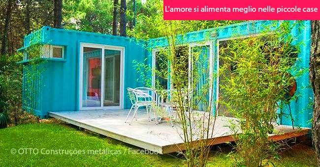 Abitare in una casa container può aiutare a liberarsi dei ...