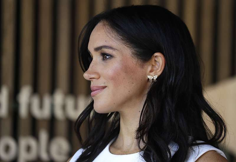 When Meghan Markle Announced Her Pregnancy, She Paid A Touching Tribute To Princess Diana