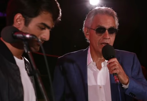 Andrea Bocelli And His Son Render A Perfect Cover Of Ed Sheeran's Song To The Delight Of Fans