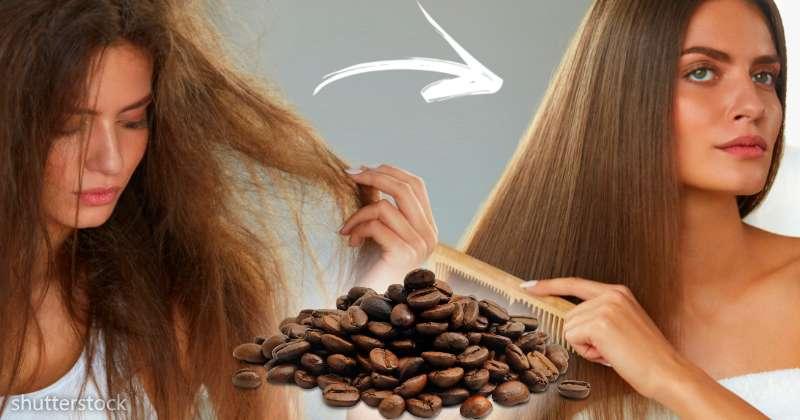 bombe caf in e une recette faite maison pour acc l rer la pousse des cheveux sur fabiosa. Black Bedroom Furniture Sets. Home Design Ideas
