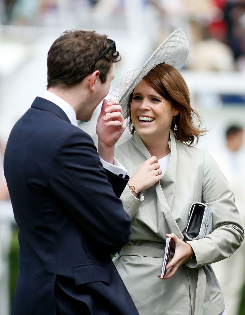 Princess Eugenie Makes Bold Emotional Statement In Her Wedding Dress As She Reveals Some Scars On Her Body