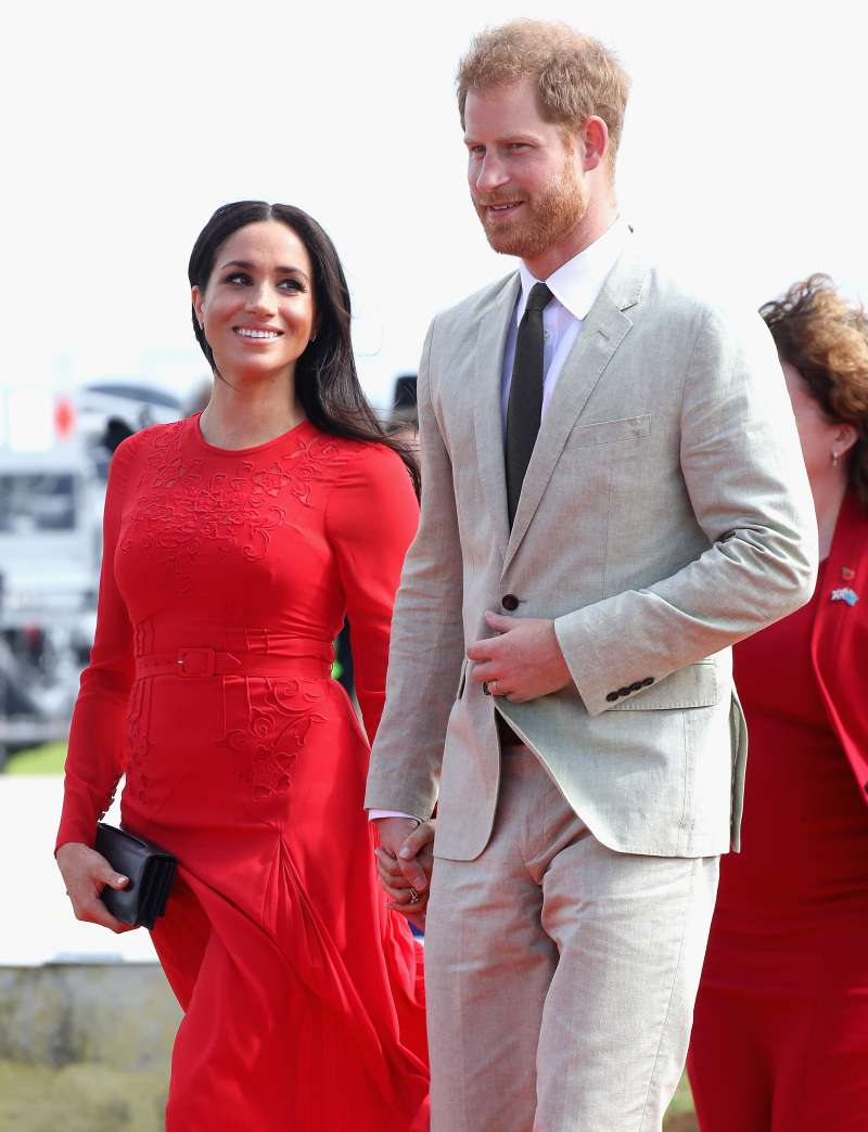 """We Get It. You're Pregnant"": Meghan Markle Slammed For Constantly Touching Her Baby Bump"