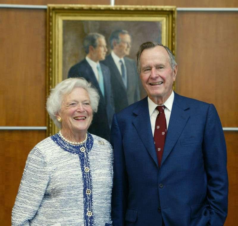 George H.W. Bushs letzte Worte an seinen geliebten Sohn sind enthüllt. Sie brechen unser Herz