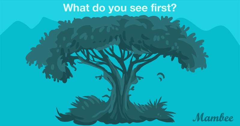 Do You Know Yourself Well? The First Image You See Can Reveal What Is Most Valuable To You
