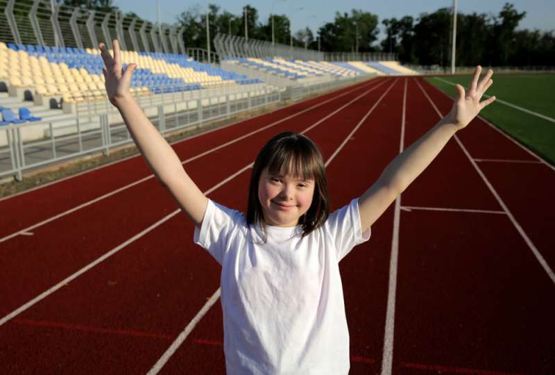 Proud Mother Shares How Her 7-Year-Old Disabled Daughter Finished 5 Km Marathon