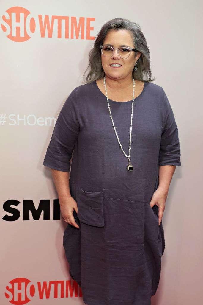 Silver Is The New Black: Rosie O'Donnell Dazzles With Her Gorgeous New Gray HairstyleSilver Is The New Black: Rosie O'Donnell Dazzles With Her Gorgeous New Gray Hairstyle