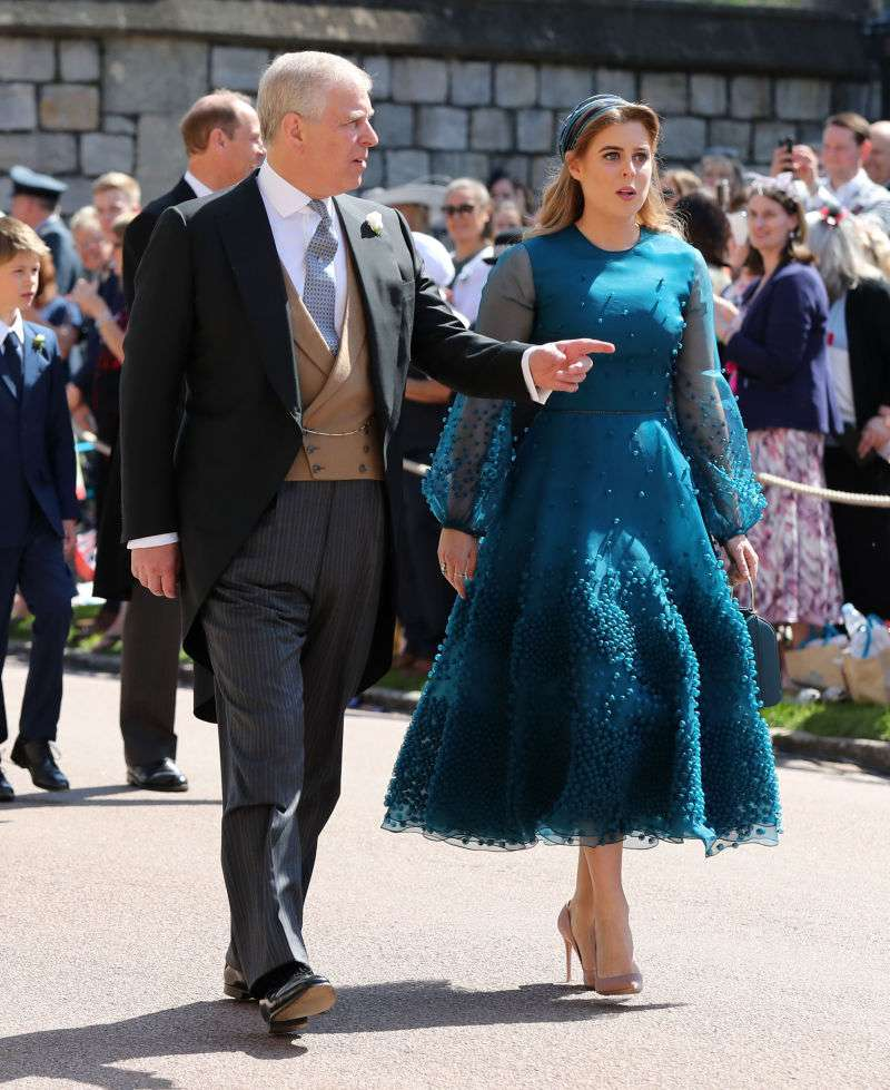 Lesson Learned: Princess Beatrice Decided Against Wearing Huge Awkward Hat To The Royal WeddingLesson Learned: Princess Beatrice Decided Against Wearing Huge Awkward Hat To The Royal Wedding