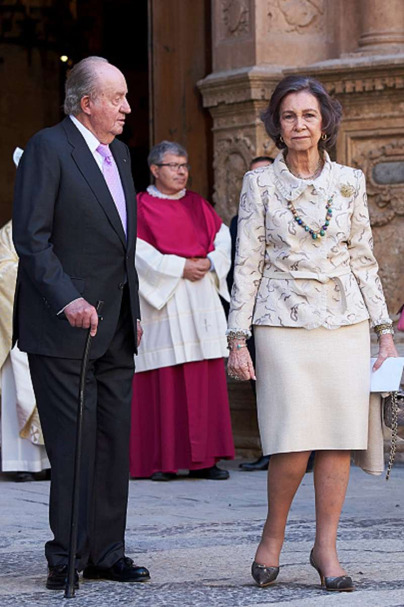 """""""Leonor ne sera jamais reine. La fin de la monarchie approche"""" : tels sont les mots de Jaime Peñafiel sur la maison royale espagnoleQueen Sofia 80's birthday"""