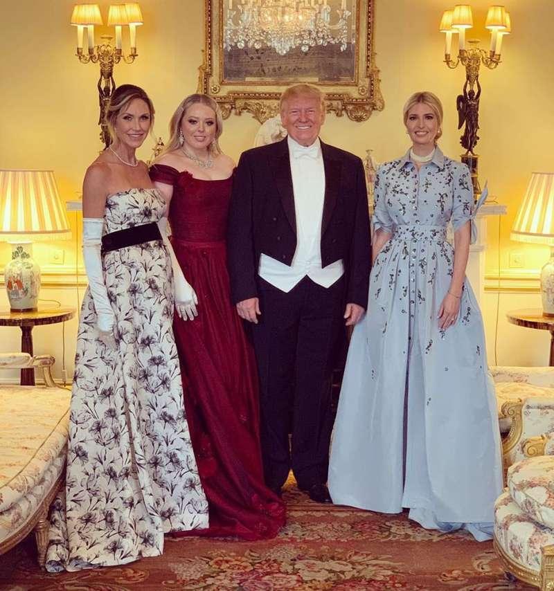 Igualitos a su padre: Hijos de Donald Trump ignoran los protocolos reales en Buckingham
