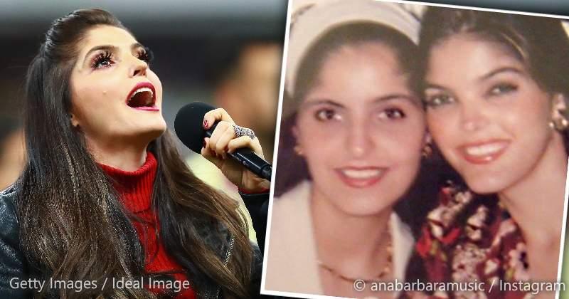 Ana Bárbara comparte foto con su hermana fallecida e impacta su enorme parecido