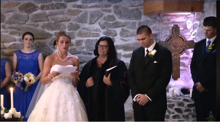 Amazing Bride Recites Heart Melting Vows To Her Groom's Ex That Leaves Everyone In The Room Emotional