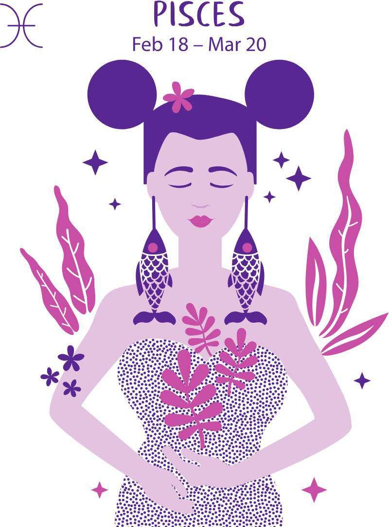 Знаки зодиака: 3 женщины, к которым мужчины быстро теряют интересЗнаки зодиака: 3 женщины, к которым мужчины быстро теряют интересPisces zodiac sign. Girl vector illustration.