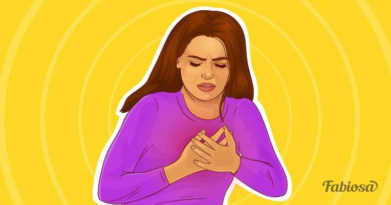 Dor intensa no seu peito pode ser um sinal de neuralgia