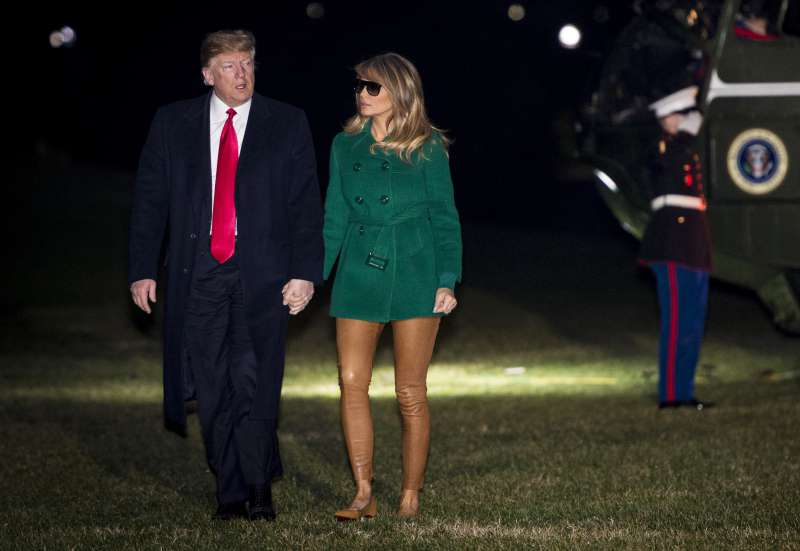 Melania Trump's Leather Pants Caused Quite The Confusion On Social MediaMelania Trump's Leather Pants Caused Quite The Confusion On Social MediaMelania Trump's Leather Pants Caused Quite The Confusion On Social Media