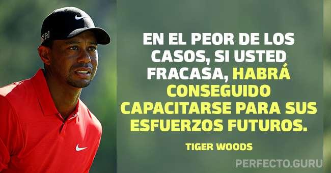 Las 15 Frases Más Inspiradas De Tiger Woods