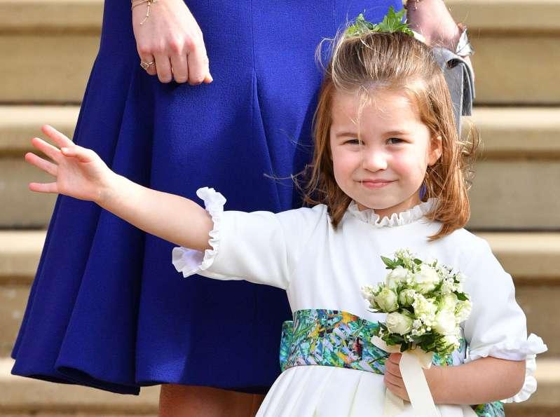 Das königliche Püppchen: Kate Middleton hat sich einen rührenden Spitznamen für Prinzessin Charlotte ausgedacht