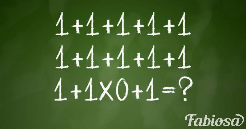 Most Mistakenly Say That The Result Is 1 Or 12. Will Someone Solve This Math Problem?
