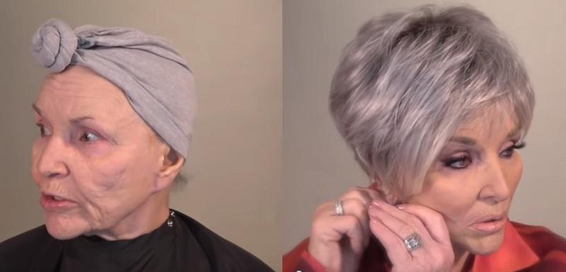 La mère de 78 ans d'un célèbre maquilleur nous montre son maquillage de tous les jours