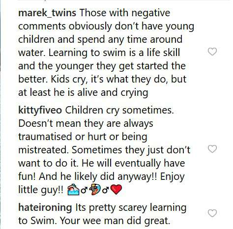 Pink Reacts To Backlash After Sharing A Video Of Crying Son Jameson On His First Swimming LessonPink Reacts To Backlash After Sharing A Video Of Crying Son Jameson On His First Swimming LessonPink Reacts To Backlash After Sharing A Video Of Crying Son Jameson On His First Swimming Lesson