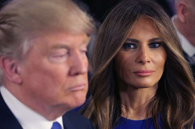 New Book Shows The Special Bond Melania And Donald Secretly Share. She's 'Very Protective' Of Him