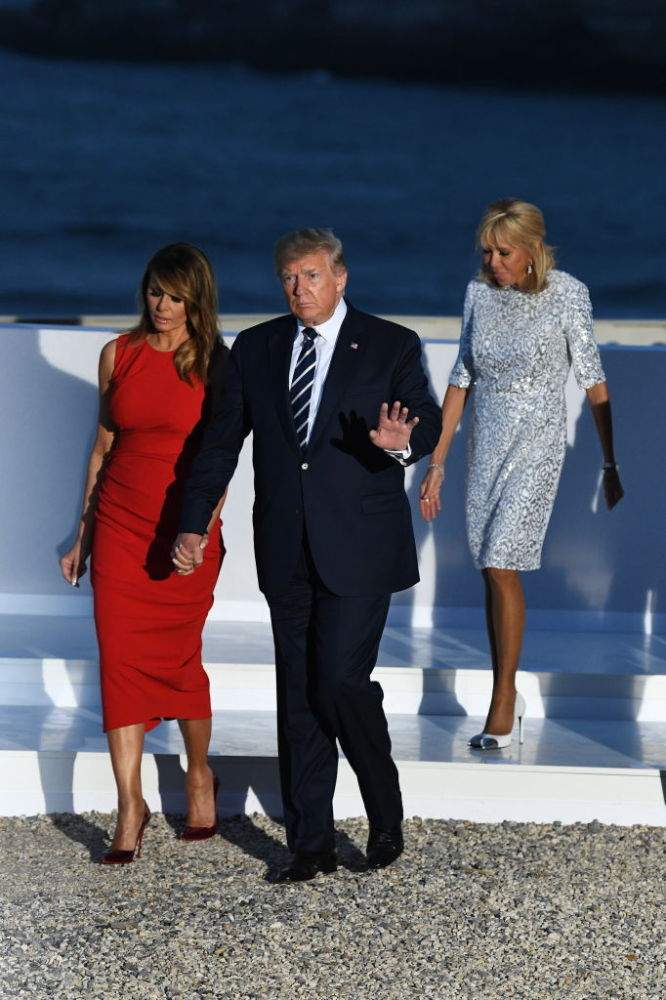 Too Rich For Our Blood! Melania Trump Blew Over $27,000 On Outfits In Just One Day For G7 SummitToo Rich For Our Blood! Melania Trump Blew Over $27,000 On Outfits In Just One Day For G7 Summit