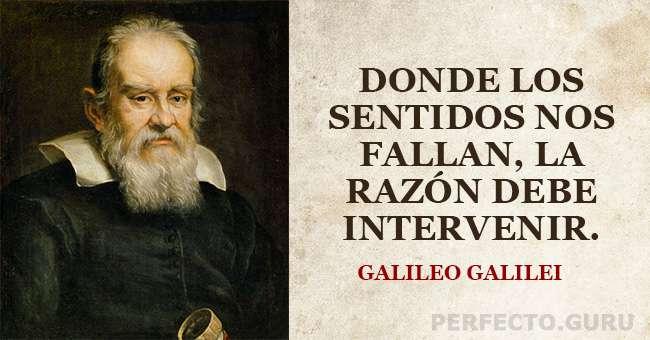 Las 20 Frases Más Destacadas De Galileo Galilei