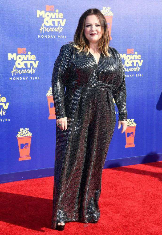We're Not Worthy! Melissa McCarthy Looked Like A Queen In A Sequined Jumpsuit At MTV Movie & TV AwardsWe're Not Worthy! Melissa McCarthy Looked Like A Queen In A Sequined Jumpsuit At MTV Movie & TV AwardsWe're Not Worthy! Melissa McCarthy Looked Like A Queen In A Sequined Jumpsuit At MTV Movie & TV AwardsWe're Not Worthy! Melissa McCarthy Looked Like A Queen In A Sequined Jumpsuit At MTV Movie & TV Awards