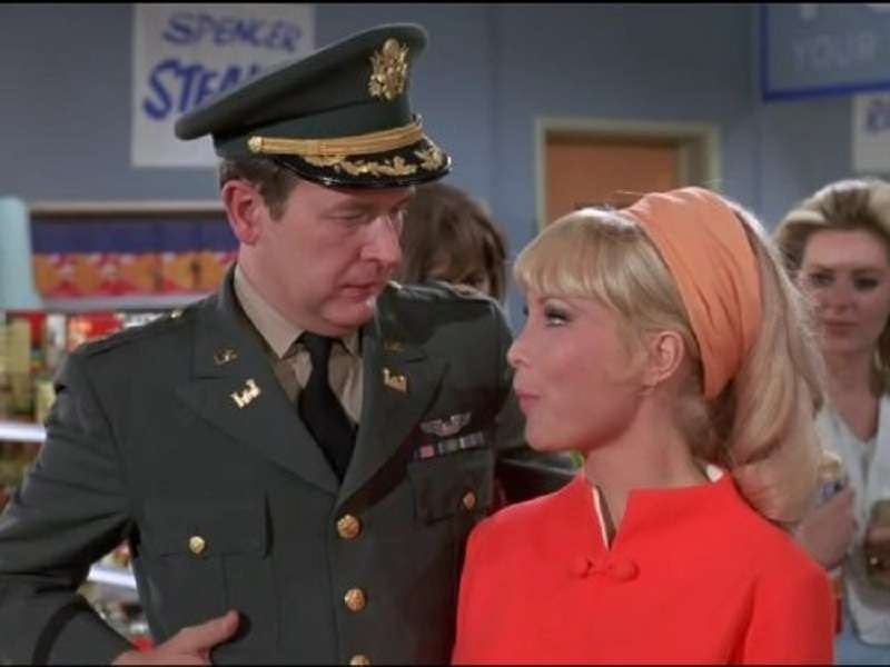 Bill Daily and Barbara Eden