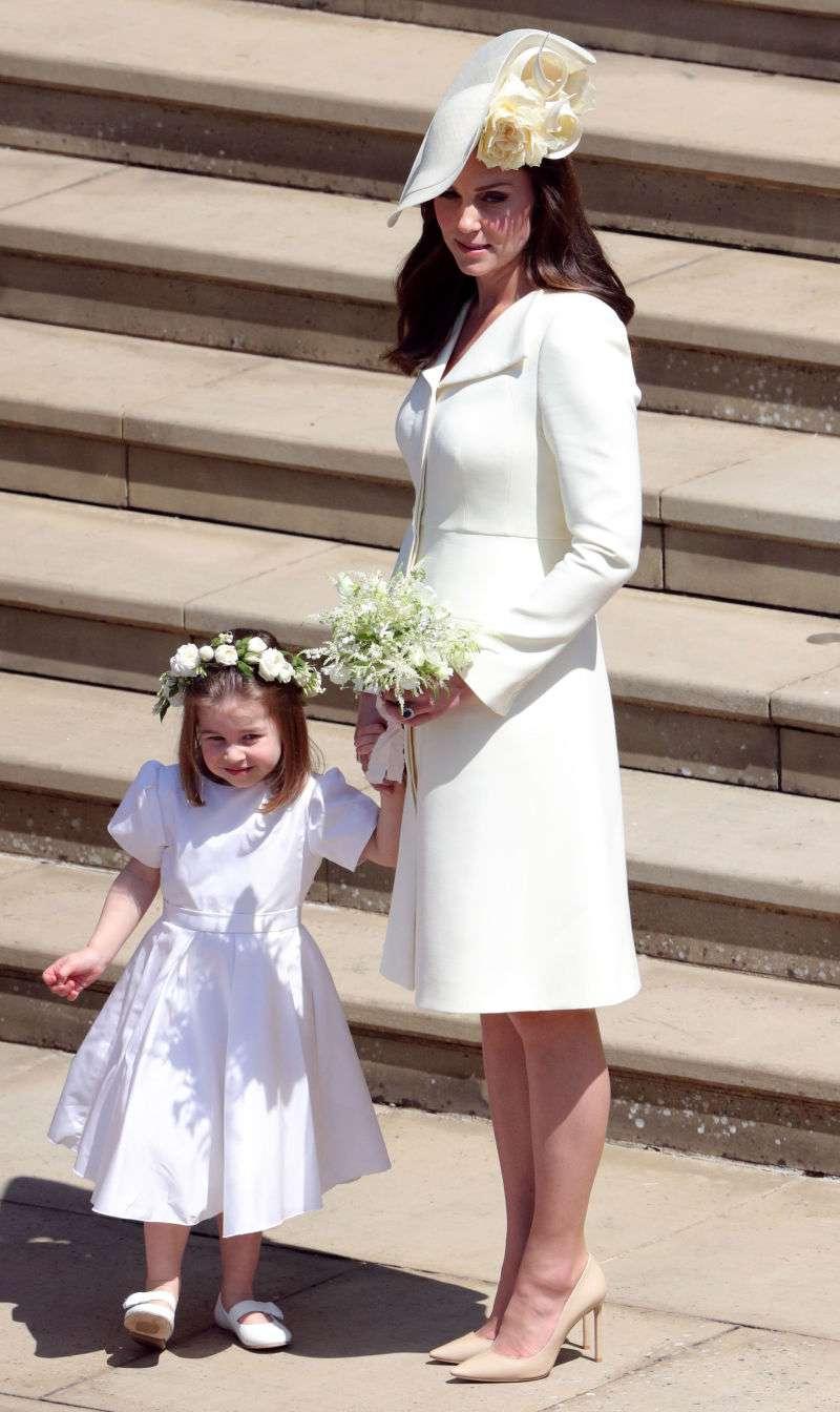 En las vísperas de su boda, se dice que Meghan Markle hizo llorar amargamente a Kate Middleton