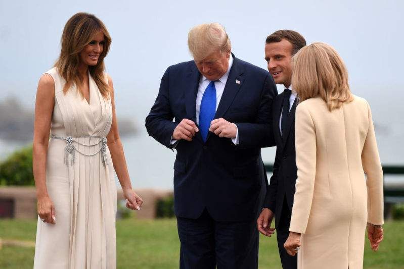Melania Trump Was At Peak Luxury In $3,800 Pleated Cream Gucci Dress And Jeweled Silver Belt At G7 SummitMelania Trump Was At Peak Luxury In $3,800 Pleated Cream Gucci Dress And Jeweled Silver Belt At G7 SummitMelania Trump Was At Peak Luxury In $3,800 Pleated Cream Gucci Dress And Jeweled Silver Belt At G7 Summit