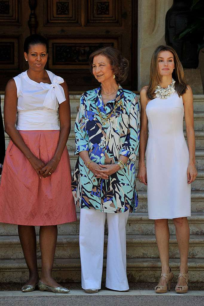 Michelle Obama a eu honte des critiques lui reprochant son look négligé à côté de la princesse Letizia en 2010