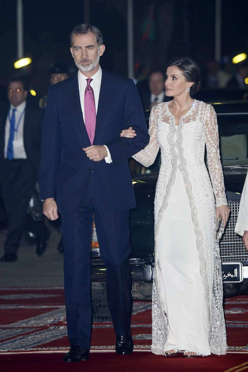 Queen Letizia Vs Meghan Markle: Are The Style Icons Inspired By Each Other's Images?letizia wedding dress