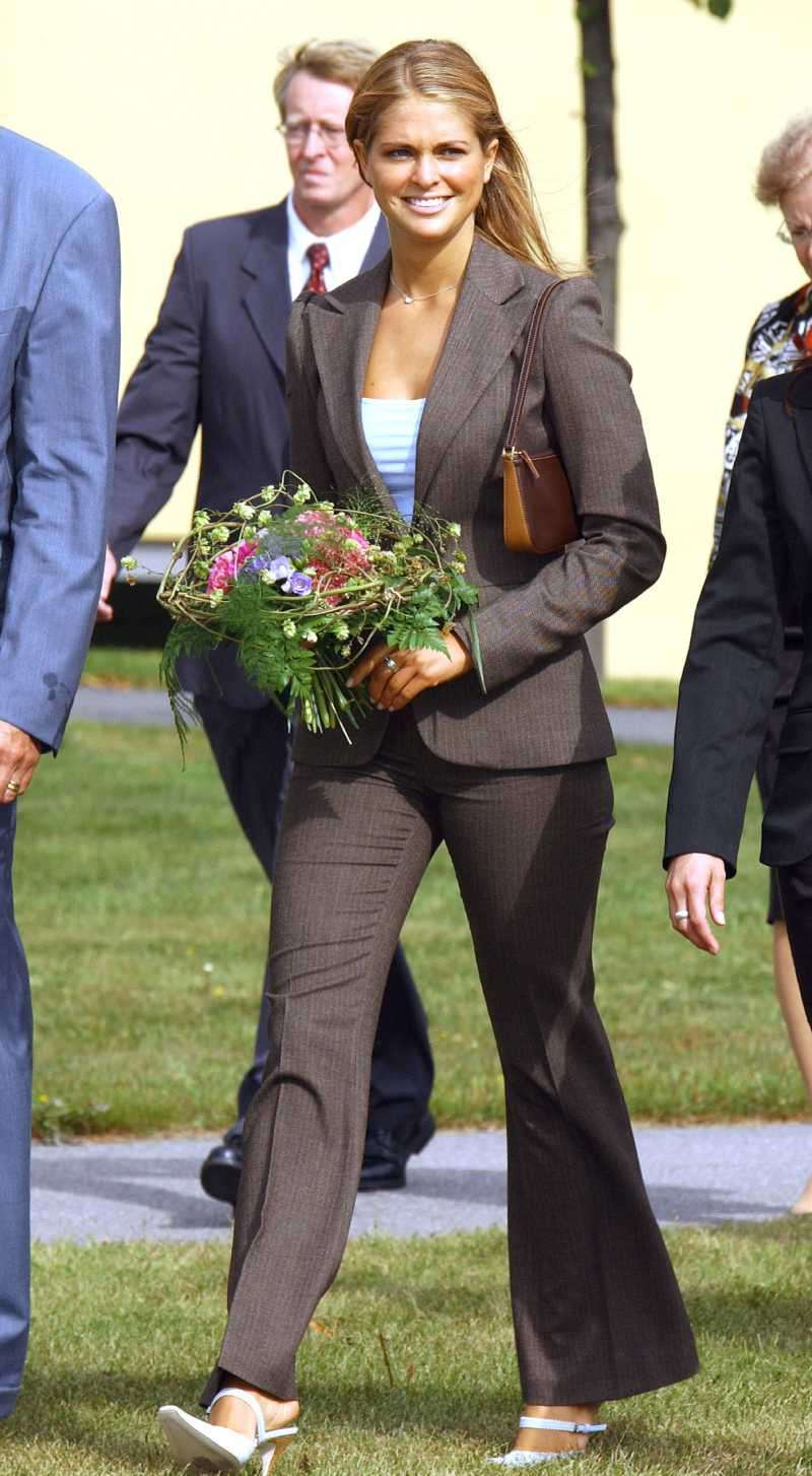 Princess Madeleine Of Sweden Visits Gavle
