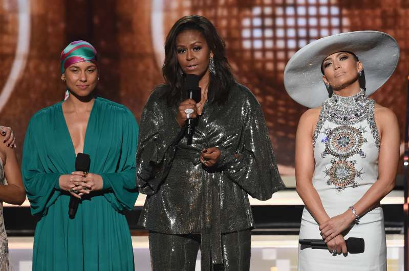 What A Surprise! Michelle Obama Stuns In Chic Glossy Outfit At The 61st Grammy Awards 2019What A Surprise! Michelle Obama Stuns In Chic Glossy Outfit At The 61st Grammy Awards 2019What A Surprise! Michelle Obama Stuns In Chic Glossy Outfit At The 61st Grammy Awards 2019