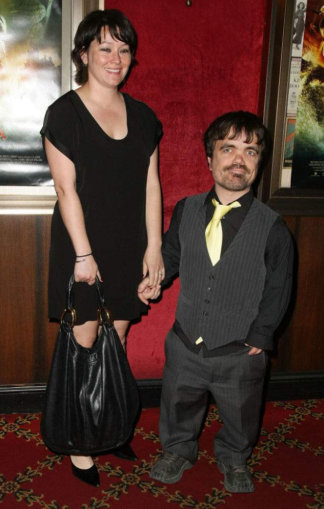 Peter Dinklage Looked Fabulous Together With His Tall And Gorgeous Wife Erica While Having A Rare Appearance At Emmys