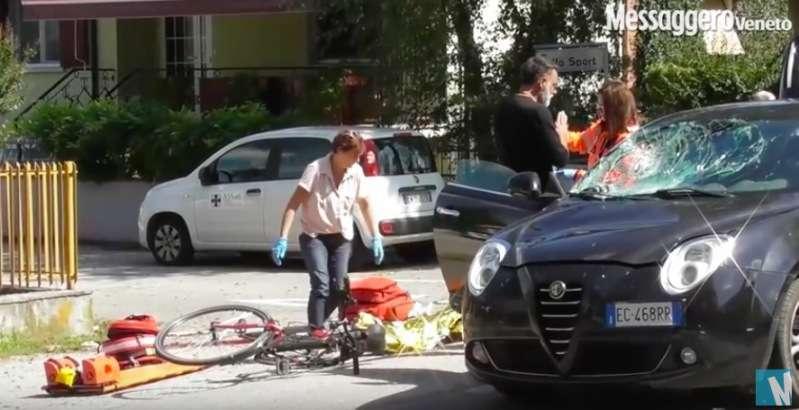 Asia Sacripanti coinvolta in un orribile incidente stradale: muore un ciclista, lei sotto shock