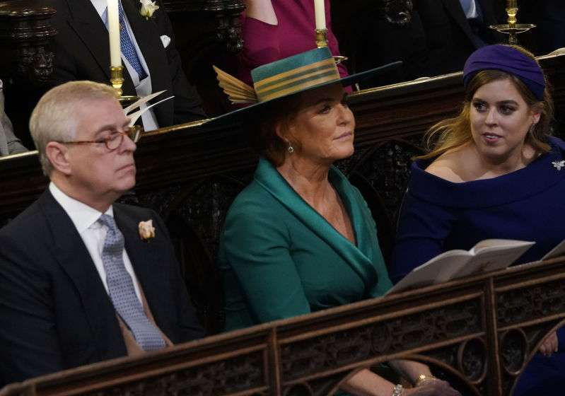 Uncomfy Chairs And Incredible Quietness: Lip Reader Reveals Every Naughty Word Said At Princess Eugenie's Weddingsarah ferguson at princess eugenie's wedding