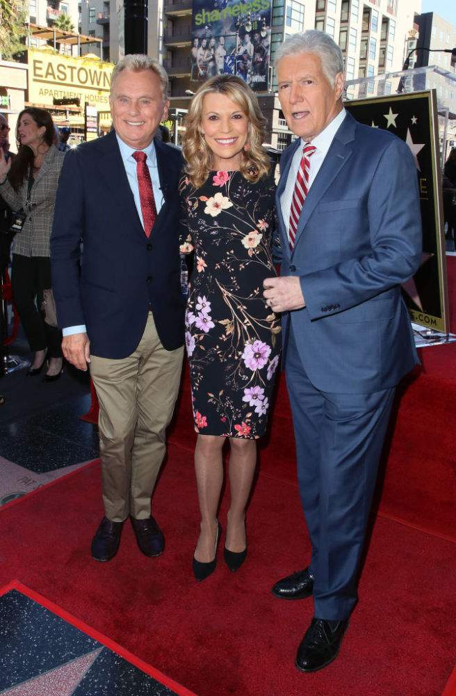 Alex Trebek Takes A Break From Cancer Battle To Attend Public Event With His Pals Vanna White And Pat SajakAlex Trebek Takes A Break From Cancer Battle To Attend Public Event With His Pals Vanna White And Pat SajakAlex Trebek Takes A Break From Cancer Battle To Attend Public Event With His Pals Vanna White And Pat Sajak