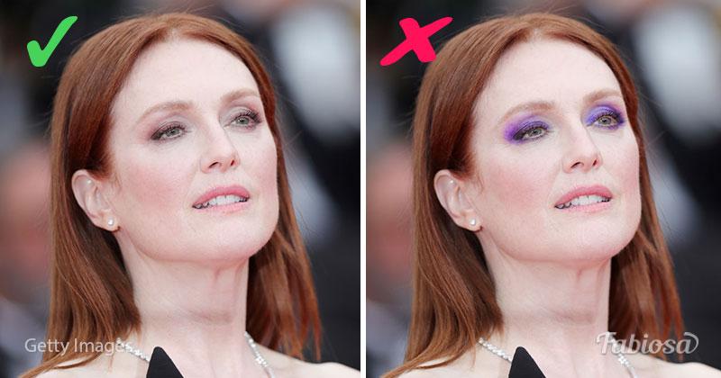 julianna moore makeup, eye makeup
