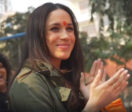 Unseen Before Video Arises To Show Meghan Had Started Charity Work Long Before She Became The Duchess Of Sussexmeghan markle unseen india charity work video