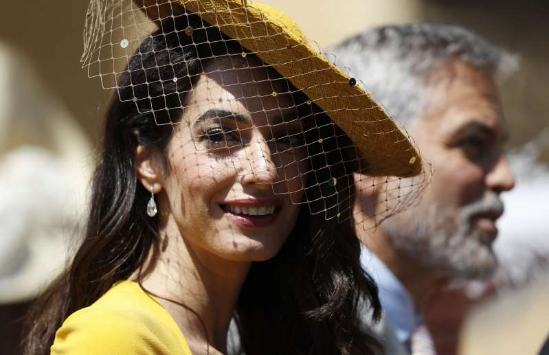Amal Clooney Looks Spectacular In A Daring Yellow Mini Dress With See-Through Details As She Stepped Out With Her Husband GeorgeAmal Clooney Looks Spectacular In A Daring Yellow Mini Dress With See-Through Details As She Stepped Out With Her Husband GeorgeAmal Clooney Looks Spectacular In A Daring Yellow Mini Dress With See-Through Details As She Stepped Out With Her Husband George