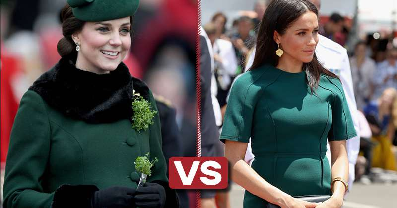 Who Looks Better Wearing Dresses Of The Same Color: Kate Or Meghan?